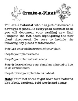 Create-A-Plant