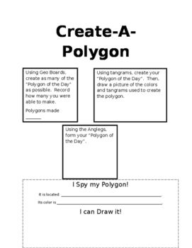 Create-A-Polygon