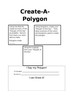 Create-A-Polygon