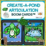Create-A-Pond Scene Articulation Boom Cards™ 25 sounds! Fun Gifs!