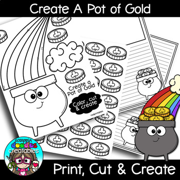 Create A Pot of Gold {Scrappin Doodles Creatables}