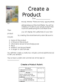 Create A Product for the Gold Rush