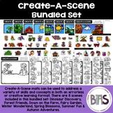 Create-A-Scene Bundled Set (File Folder | Errorless Task | Independent Activity)