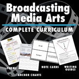 School Broadcasting Media Arts Bundle - Complete Curriculum - Comprehensive