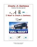Create-A-Sentence Autism Sentence Training