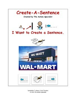 Create-A-Sentence Autism Sentence Training