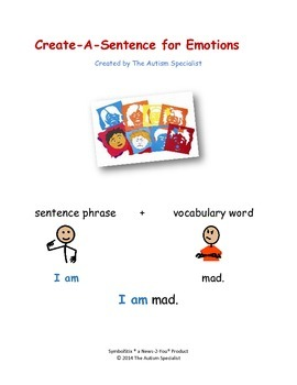 Create-A-Sentence on Emotions: Sentence Training for Students with Autism