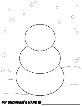 FREE Winter Fun! Create Your Own Snowman Coloring Page by ...