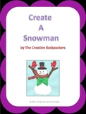 Create A Snowman Descriptive Paragraph Writing Activity