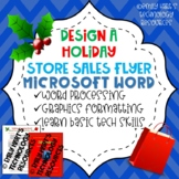 Create A Store Sale Flyer in Microsoft Word