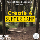 Create A Summer Camp, A Project Based Learning Activity (PBL)