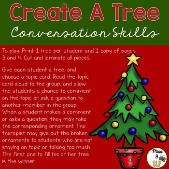 Create-A-Tree Conversation Skills