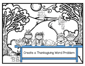 Create A Word Problem for Thanksgiving