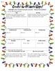Create An Elf Math Glyph (3rd Grade Common Core)