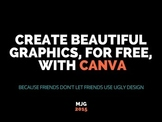 Create Beautiful TPT & Classroom Graphics for FREE w Canva