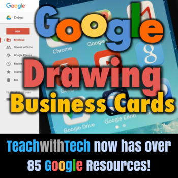 Create Business Cards in Google Drive Drawings