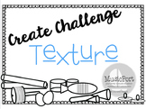 Create Challenge:  Texture using non-pitched percussion