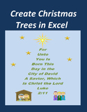 Create Christmas Trees in Microsoft Excel – Religious Verses