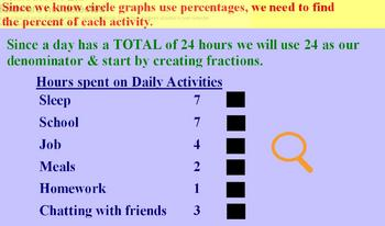 Create Circle Graphs - ActivInspire software