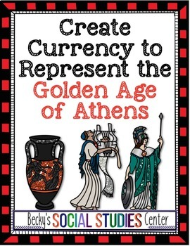 Create Currency for Athens, Ancient Greece - A Fun Project of the Golden Age!