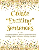 "Create ""Exciting"" Sentences"