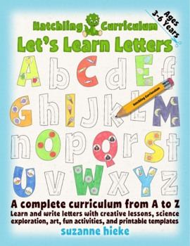 Learn & Write the Alphabet: 26 Complete Curriculum Lessons - US Version (Letter)