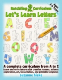 Learn & Write the Alphabet: 26 Complete Curriculum Lessons