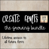 Create Fonts Bundle