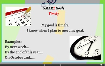 Setting and Reaching Goals Lesson with Prezi