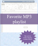 Create MP3 Playlist with any version of Microsoft Excel