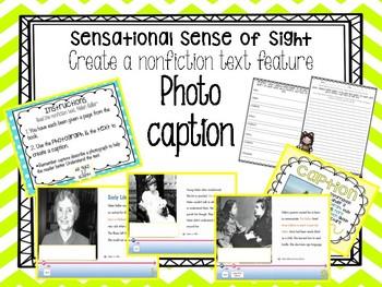 """Create Nonfiction Photo caption using Nonfiction """"Helen Keller"""" text"""