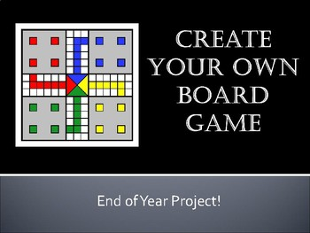 Create Own Board Game- Any Subject