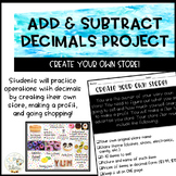 Create Your Own Store - Adding and Subtracting Decimals