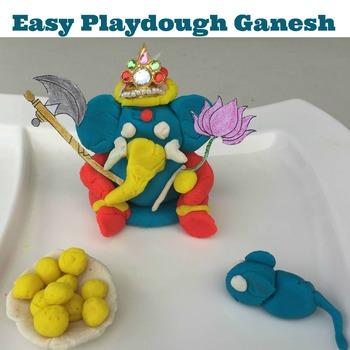 Create Playdoh Ganesh/ Ganesha/Elephant God