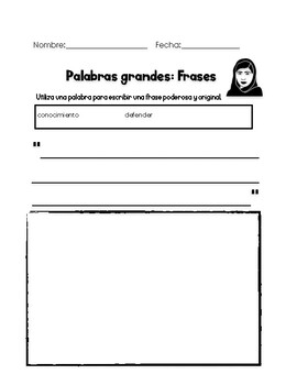 Create Quotes Inspired by Malala Yousafzai by Clase de ...