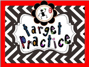"""Create Small Groups Quickly for Differentiation Using """"Target Practice"""""""