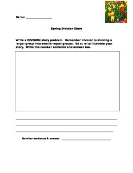 Create Spring Division Stories