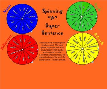 Create Super Sentences