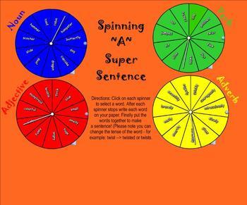 Create Super Sentences