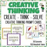 Creative Thinking Activities and Problem Solving Cards #be