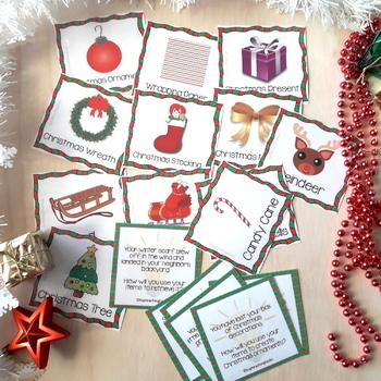 Creative and Lateral Thinking Prompt Cards Christmas Edition