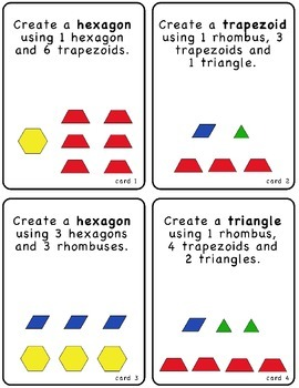 Create This Shape - Pattern Block Puzzles