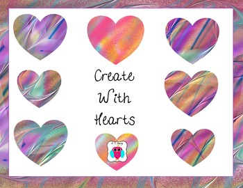 Create With Hearts Clip Art