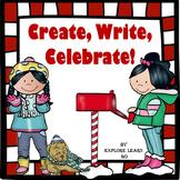 Christmas Writing Task Cards / Create, Write, Celebrate!
