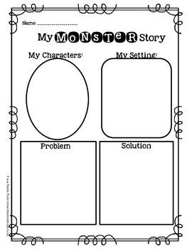 Create & Write! Monster!