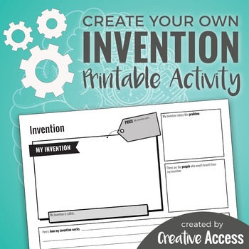 Create Your Own Invention Activity