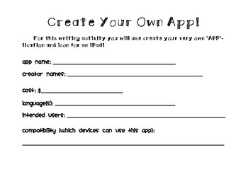 Create Your Own APP-lication