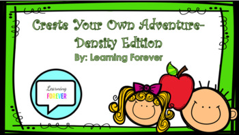 Create Your Own Adventure-Density Edition