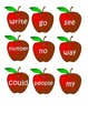 Create Your Own Apple Tree of Sight Words
