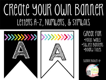 """Create Your Own """"Banner"""""""